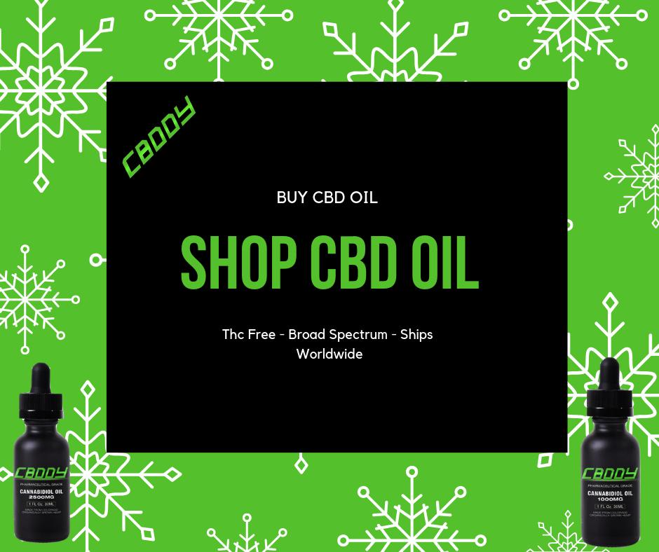 Shop CBD Oil. Buy CBD Oil From CBDDY