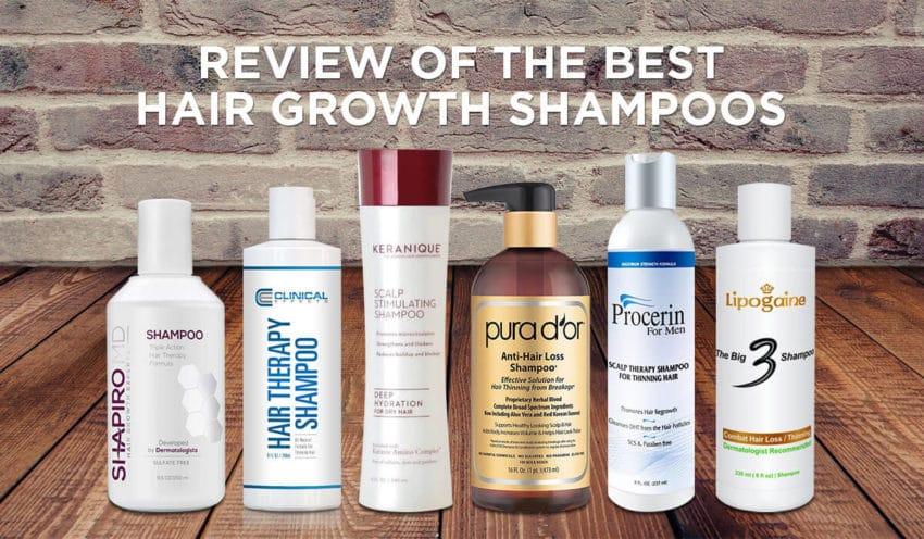 Our Top Hair Growth Shampoo Picks