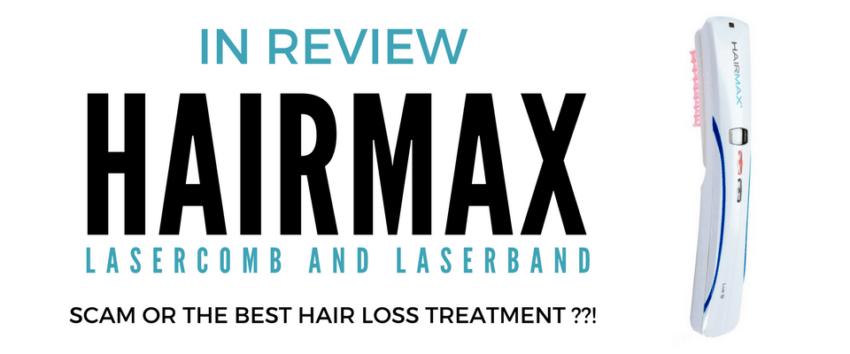 Hairmax LaserComb and LaserBand