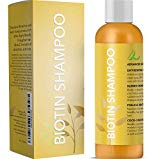 All Natural Biotin Shampoo for Hair Growth & Hair Loss - Conditioning Thinning Treatment Shampoo for Men &...