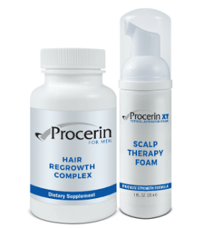 #1 Hair Growth Supplement - Procerin For Men