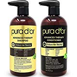 PURA D'OR Advanced Therapy System Shampoo & Conditioner