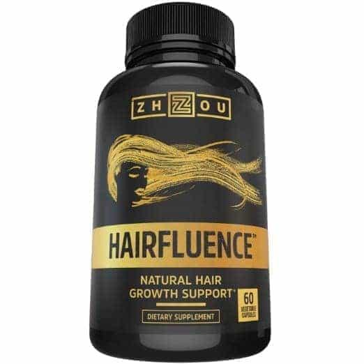 Hairfluence All Natural Hair Growth Formula