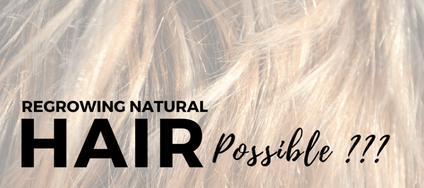 Regrowing Natural Hair Possible