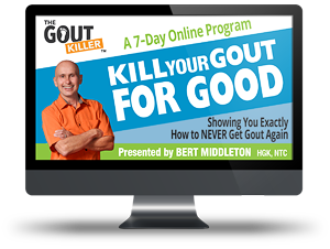 kill your gout for good
