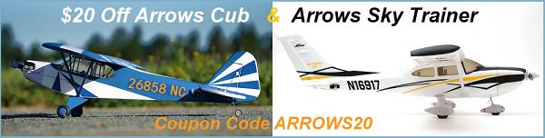 $20 Off Arrows Cub & Arrows Sky Trainer