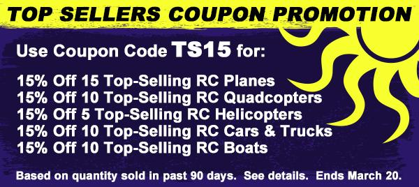 RC Airplanes - Top Sellers