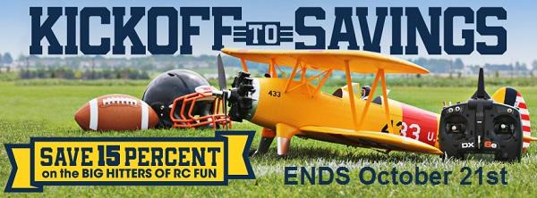 Kickoff to Savings - Save 15%!